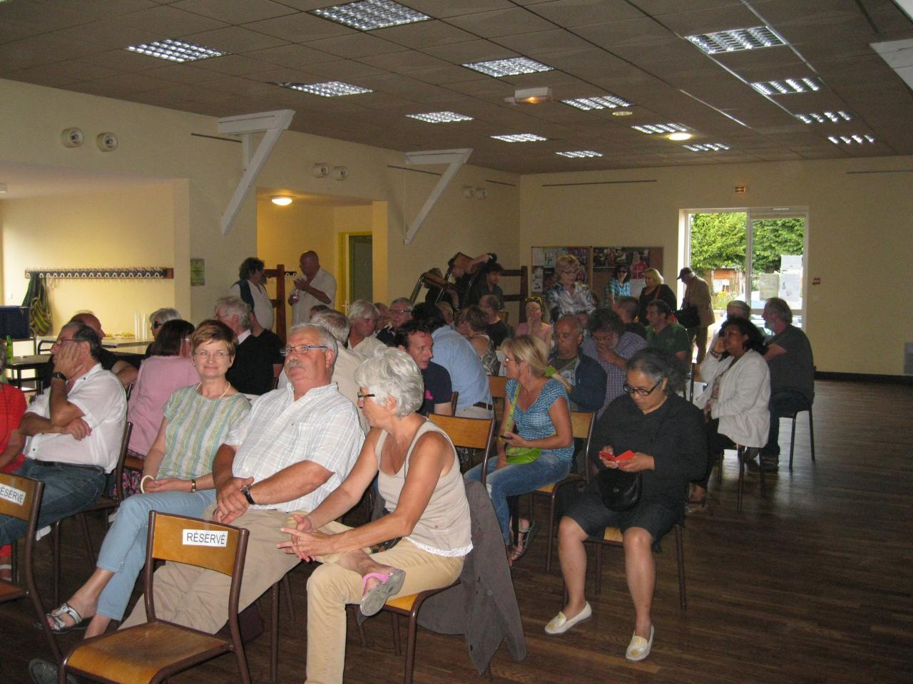 Le public au rendez-vous