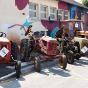 Exposition de vieilles mécaniques
