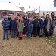 Les enfants de l'école du Fidelaire