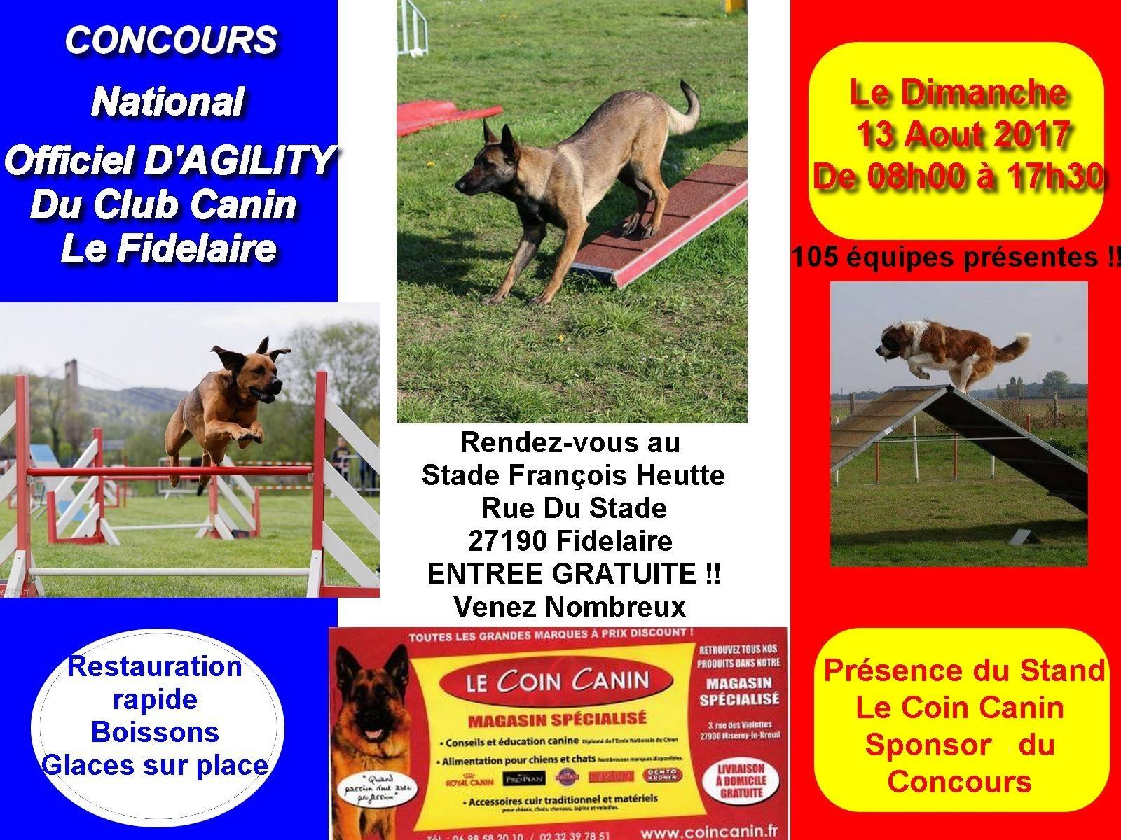 Concours national d'agility