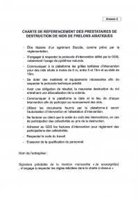 Charte de référencement
